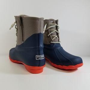 New SPERRY Saltwater Waterproof Rain Boot Size 11